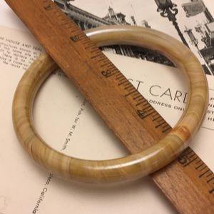 Jewelry - Polished Stone Bangle Bracelet